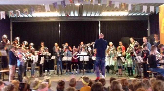 Geweldige afsluiting 'Music Kids'-project basisschool Het Venster