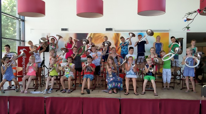 Einde succesvol Music Kids-project KC Berglaren